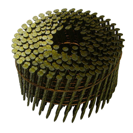 Wire Welded Coil Framing Nails-15 Degree Featured Image
