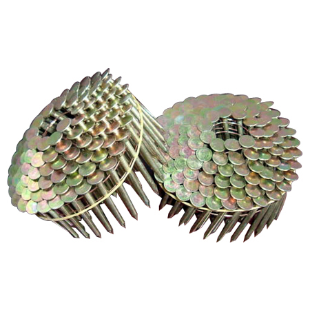 Wire Welded Coil Roofing Nails-15 Degree Featured Image